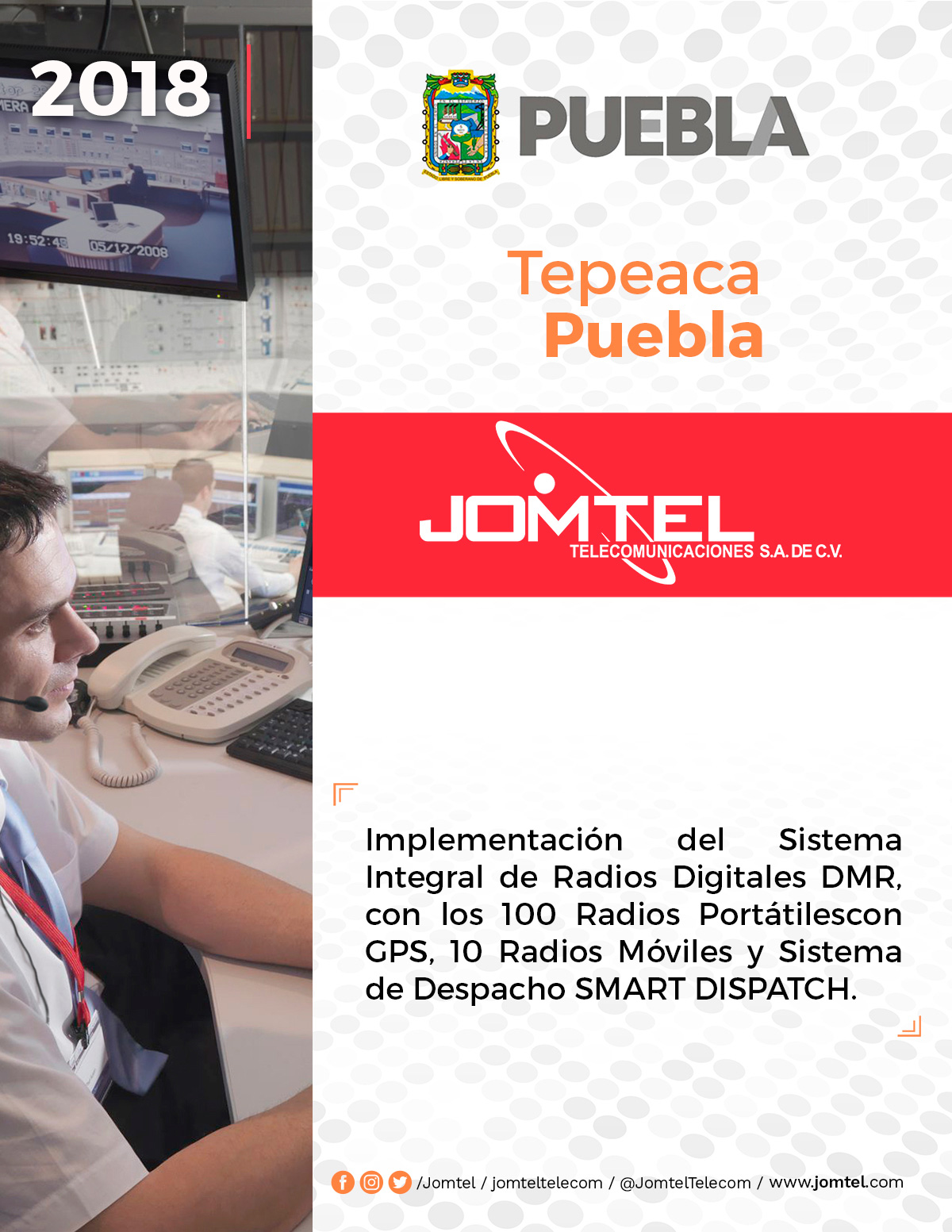 TEPEACA PUEBLA PROYECTO RADIOCOMUNICACIÓN PUEBLA