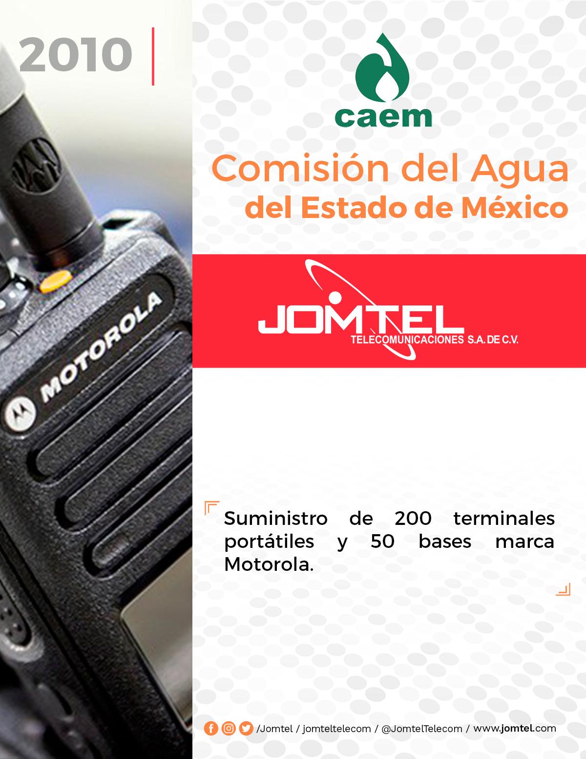 CAEM PROYECTO DE RADIOCOMUNICACIÓN JOMTEL